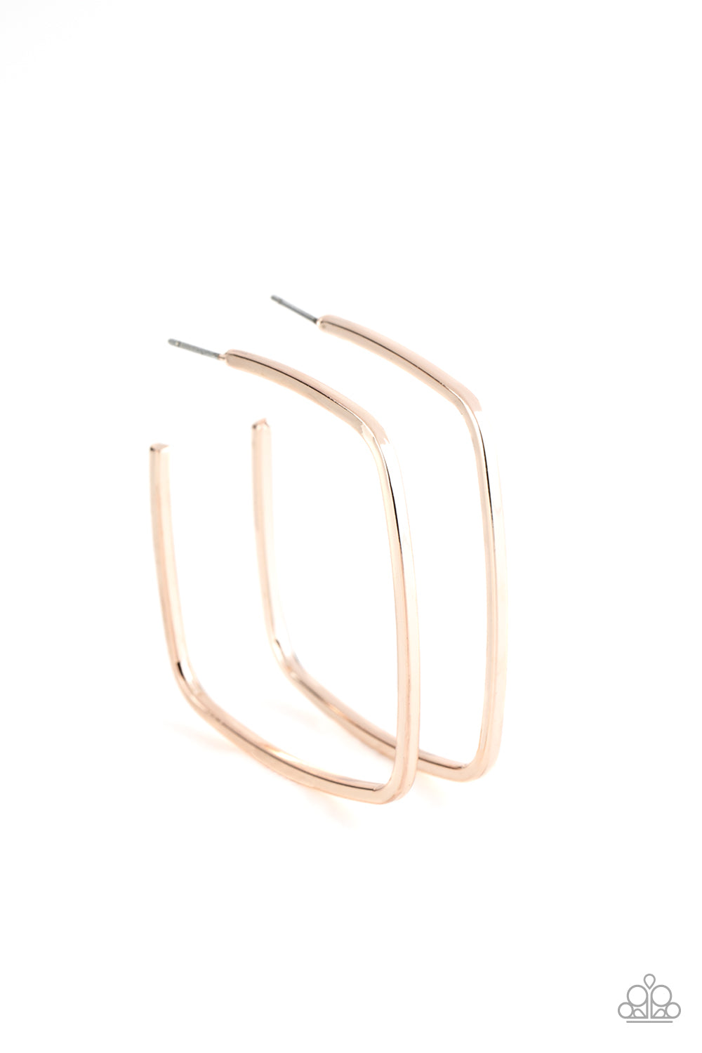 Brazen Beauty Rose Gold Earring