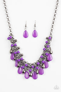 Diva Attitude Purple Necklace