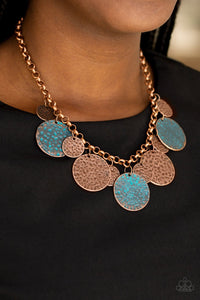 Treasure HUNTRESS Copper Necklace