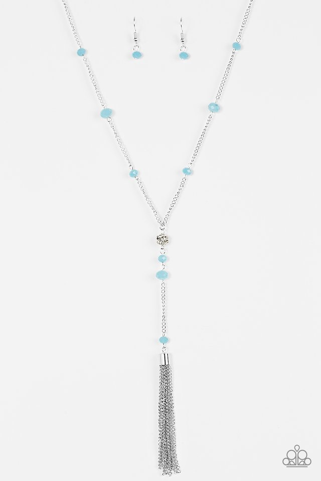 Out All Night Blue Necklace