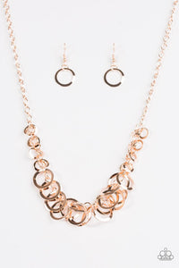 Royal Circus Rose Gold Necklace