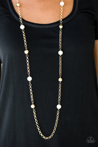Showroom Shimmer Gold Necklace