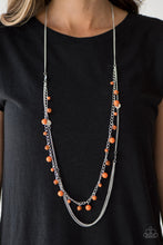 Load image into Gallery viewer, Color Spree Orange Necklace