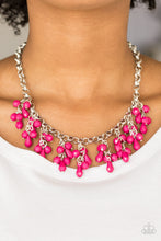 Load image into Gallery viewer, Modern Macarena Pink Necklace