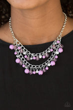 Load image into Gallery viewer, Bridal Party Purple Necklace