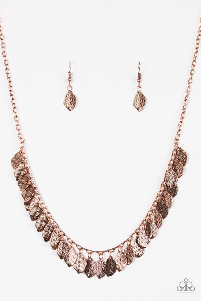 Sail Across The Sky Copper Necklace