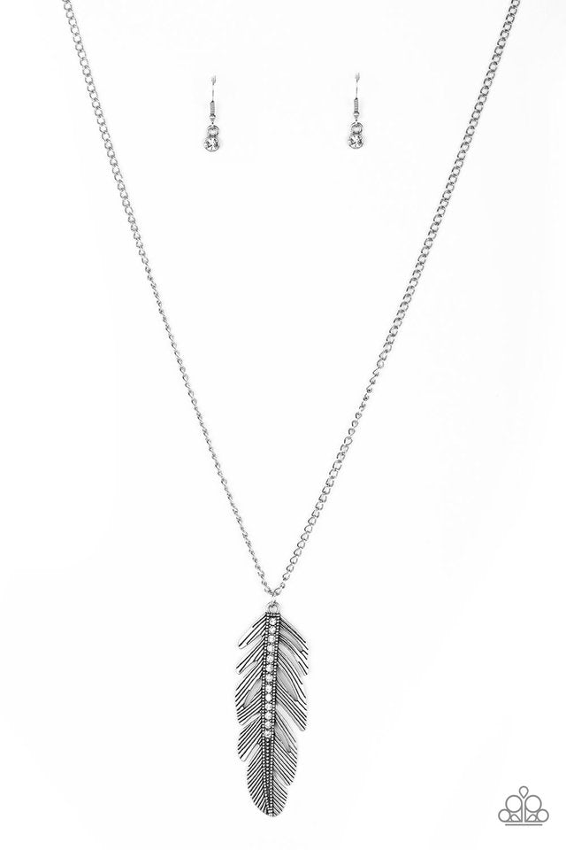 Sky Quest White Necklace