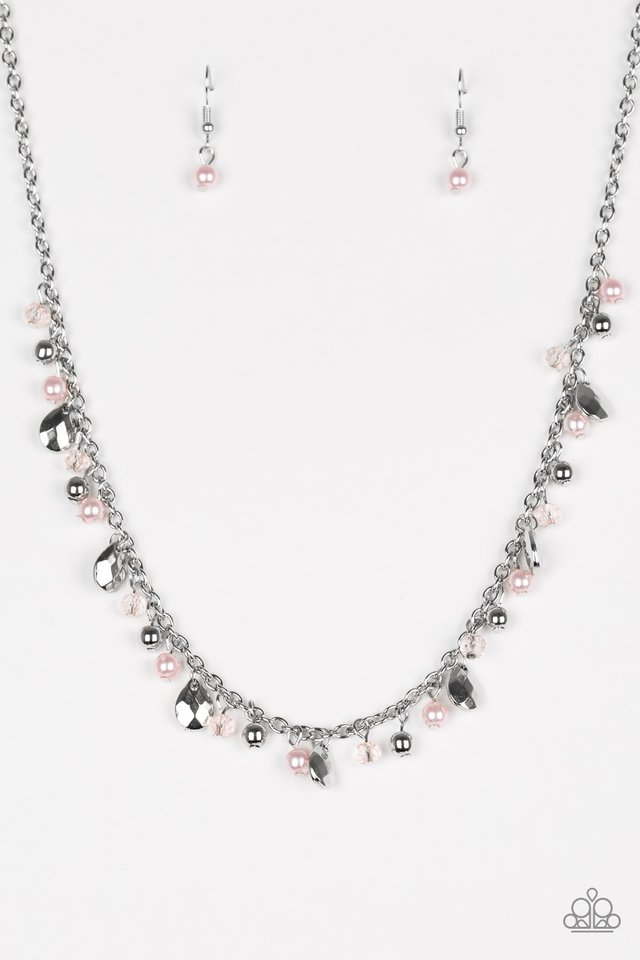 Spring Sophistication Pink Necklace