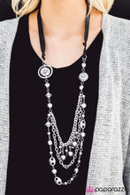 Load image into Gallery viewer, All The Trimmings Black Necklace