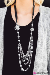 All The Trimmings Black Necklace