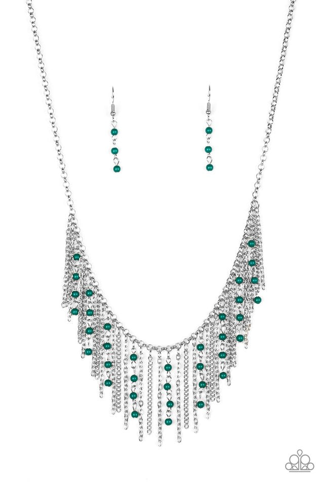 Harlem Hideaway Green Necklace