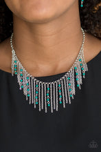 Load image into Gallery viewer, Harlem Hideaway Green Necklace