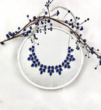 Load image into Gallery viewer, Hidden Eden Blue Necklace