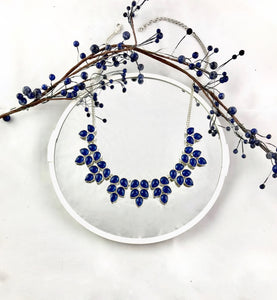 Hidden Eden Blue Necklace