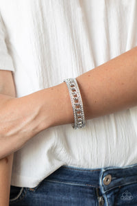 Couture Court White Bracelet