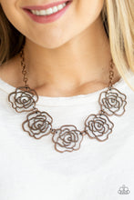 Load image into Gallery viewer, Budding Beauty Copper Necklace