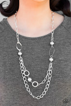 Load image into Gallery viewer, Mega Metal Silver Necklace