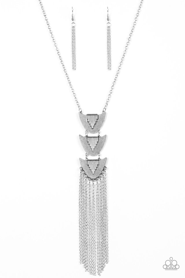 Paradise Prowess Silver Necklace