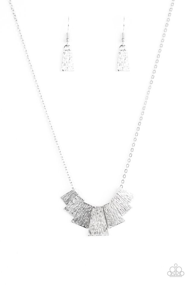 Cry Wolf Silver Necklace