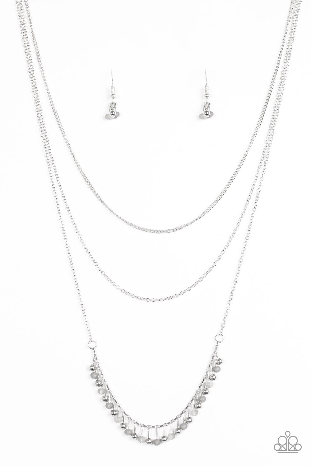 Twinkly Troves Silver Necklace