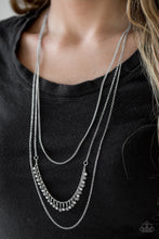 Load image into Gallery viewer, Twinkly Troves Silver Necklace