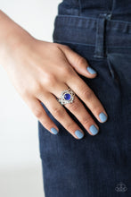Load image into Gallery viewer, Decadently Dreamy Blue Ring