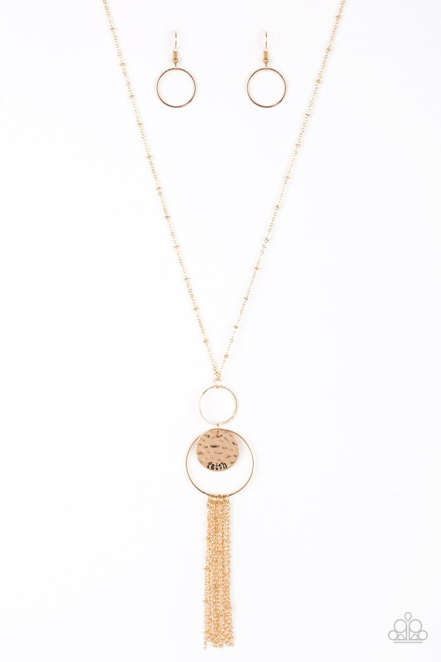 Faith Makes All Things Possible Gold Necklace