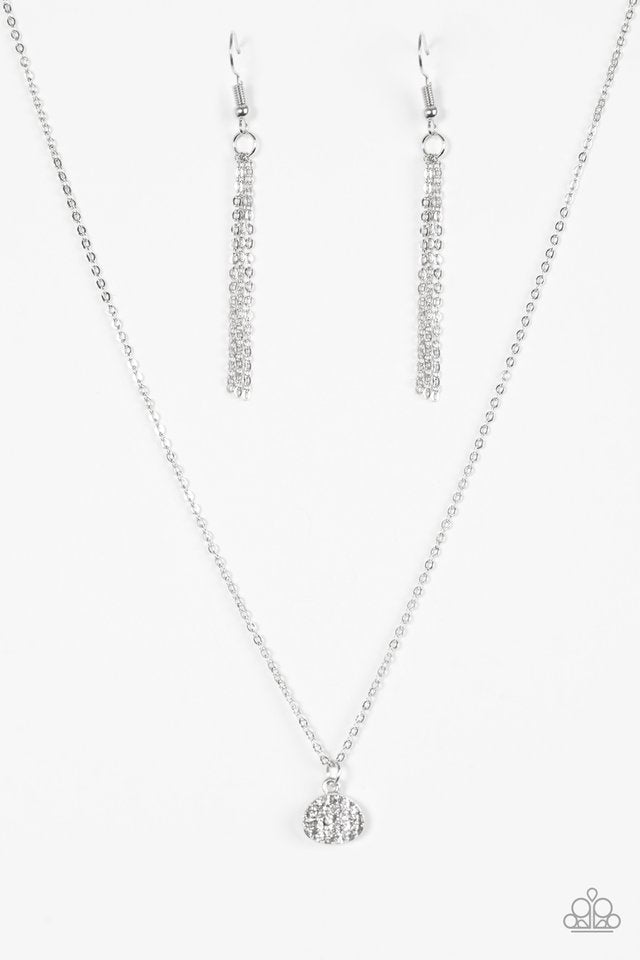 Diamond Debonair White Necklace