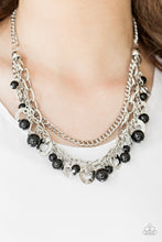 Load image into Gallery viewer, Hoppin Hearts Black Necklace