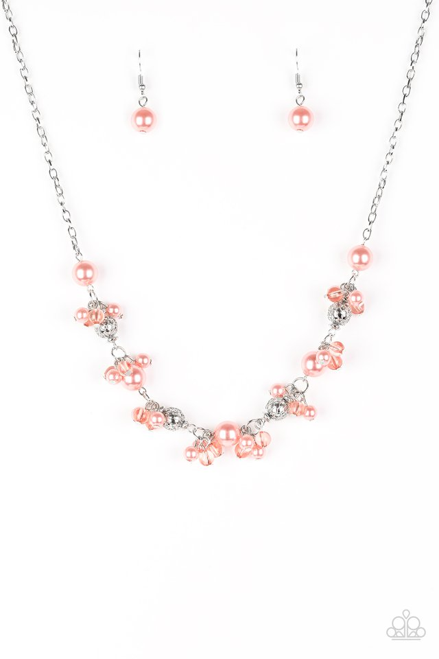 Weekday Wedding Orange Necklace