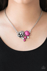 Desert Harvest Pink Necklace