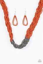 Load image into Gallery viewer, Brazillian Brilliance Orange Necklace