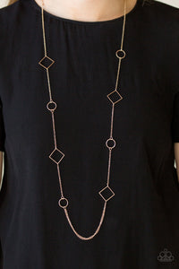Full Frame Rose Gold Necklace