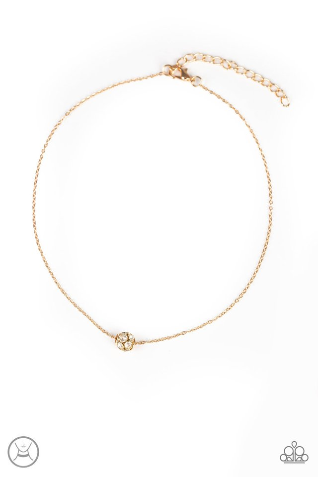 Modest Shine Choker Gold Necklace