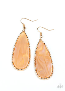 Ethereal Eloquence Gold Earring