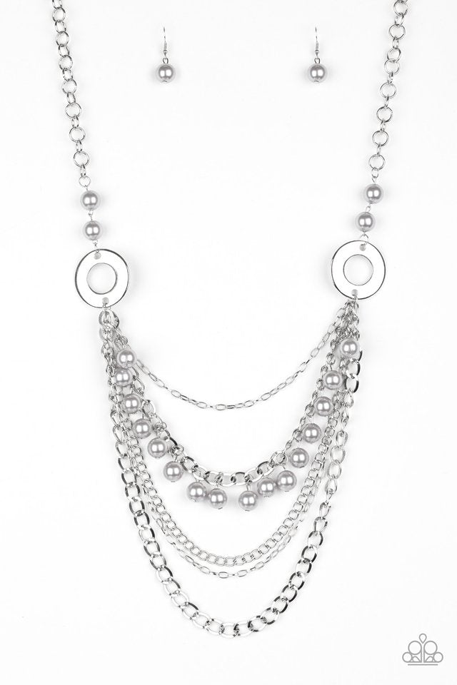 BELLES and Whistles Silver Necklace