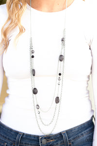 BELIZE It Or Not Black Necklace
