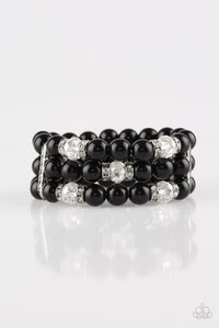 Undeniably Dapper Black Bracelet