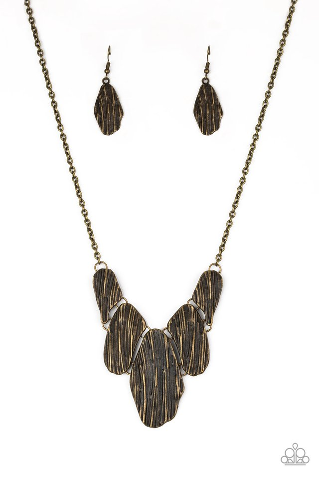 A New DISCovery Brass Necklace