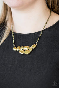 Urban Dynasty Brass Necklace