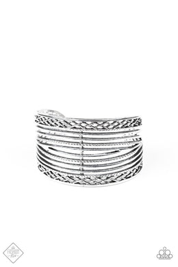Brace Yourself Silver Bracelet