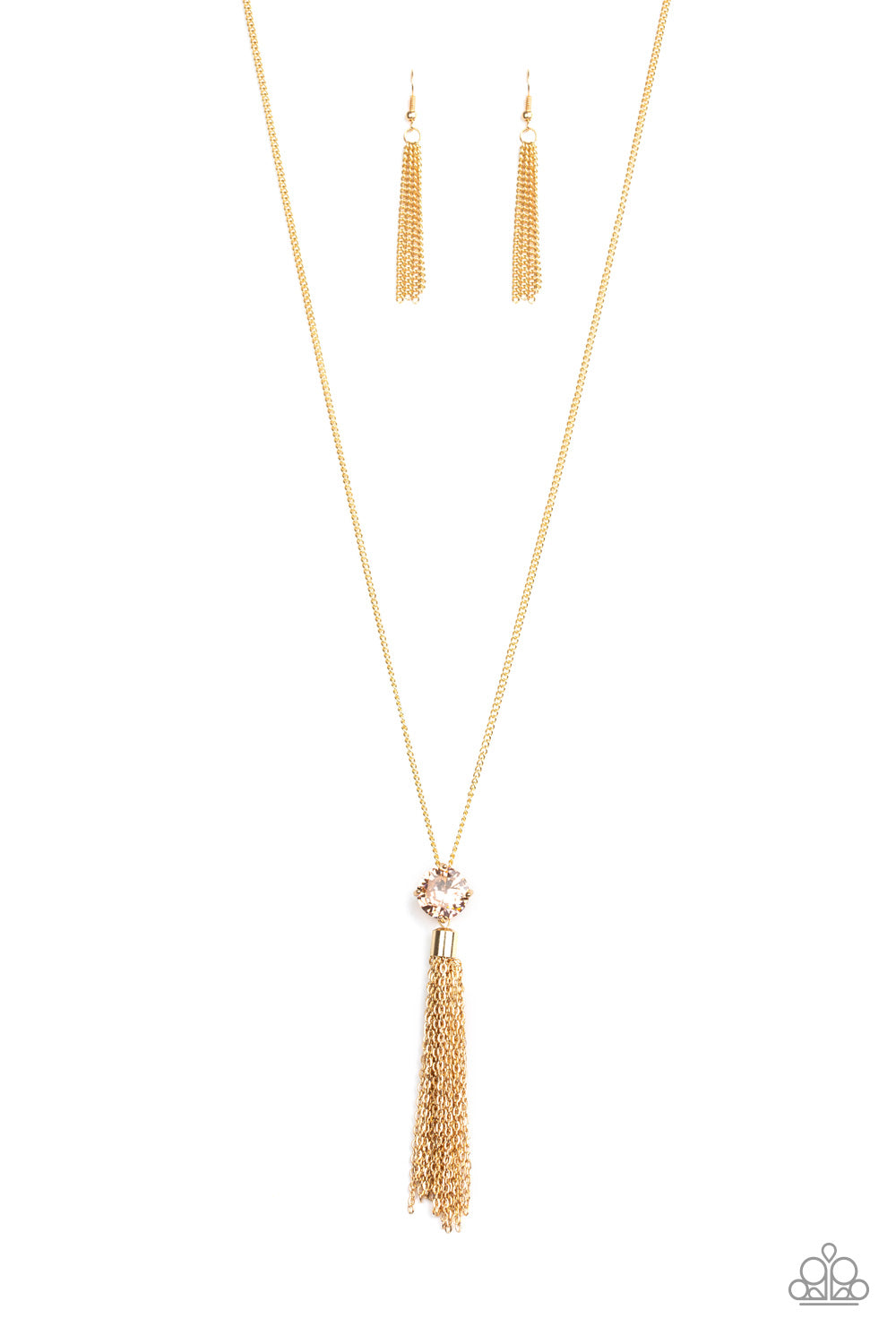 Five-Alarm FIREWORK Gold Necklace