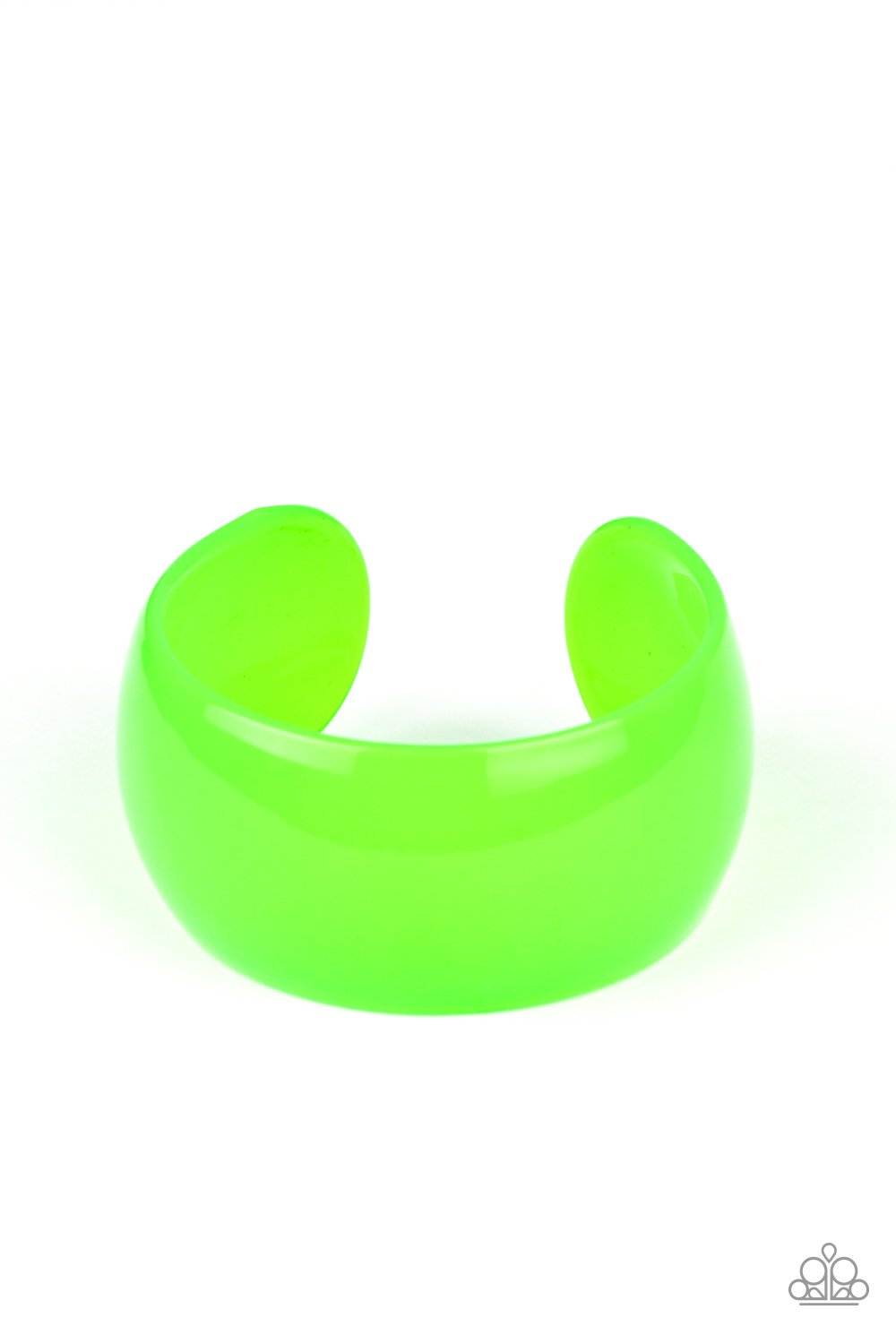 Fluent in Flamboyance Green Bracelet