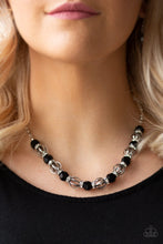 Load image into Gallery viewer, Metro Majestic Black Necklace