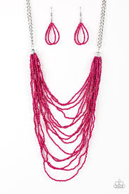 Bora Bombora Pink Necklace