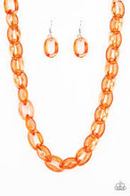Load image into Gallery viewer, Ice Queen Orange Necklace