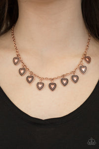 Lost In The Moment Copper Necklace