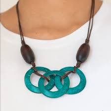 Bahama Drama Blue Necklace