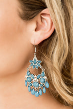 Load image into Gallery viewer, Garden Dream Blue Earring