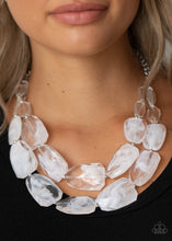 Load image into Gallery viewer, Gives Me Chills White Necklace